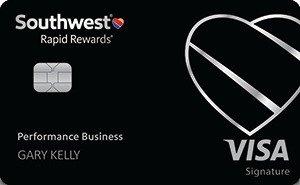Earn 80,000 pointsNew! Southwest Rapid Rewards® Performance Business Credit Card