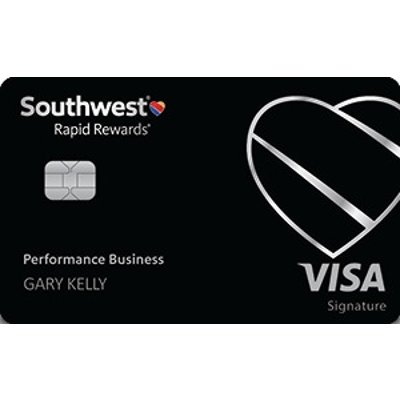 Earn 80,000 pointsNew! Southwest Rapid Rewards® Performance Business Credit Card
