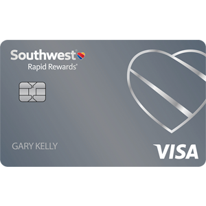 Earn up to 60,000 points.Southwest Rapid Rewards® Plus Credit Card