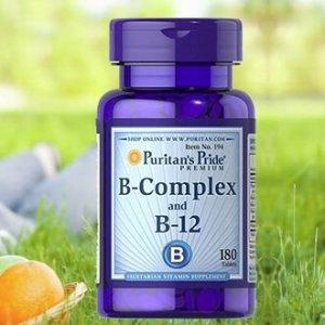 Ending Soon: $10.39Vitamin B-Complex And Vitamin B-12 @Puritan's Pride