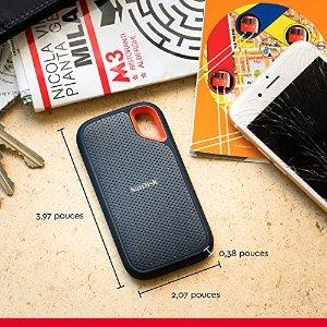 SanDisk1T容量,1050MB/s读取速度移动硬盘