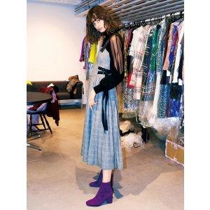 仅剩紫色啦~吊带连衣裙