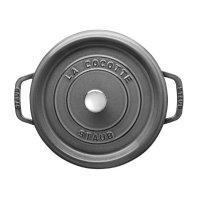 Staub 深灰色 4夸铸铁锅