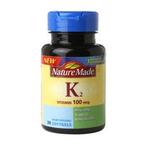 Nature MadeVitamin K2 100 mcg, 补充剂