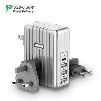 Zendure USB-C 全球旅行充电适配器