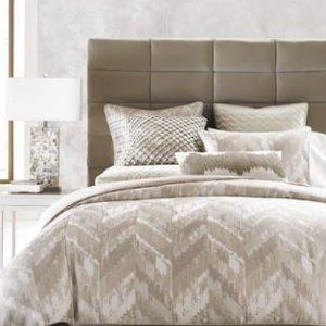 限今天!5折Hotel Collection名牌床单,被套,枕套,靠枕等床上用品促销