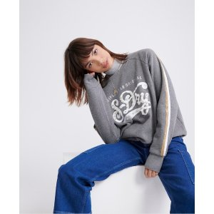 SuperdryBoutique Pearly Star Classics Crew Sweatshirt