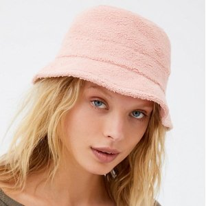 Urban Outfitters Teddy Bucket Hat