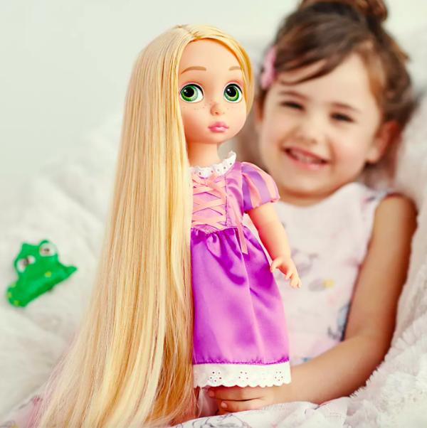 Rapunzel 娃娃+宠物