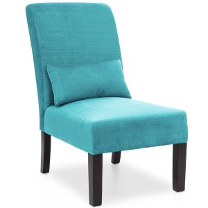 $77.99Fabric Armless Accent Chair