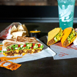 Free via Online or Drive-ThruToday Only: Taco Bell Doritos Locos Tacos