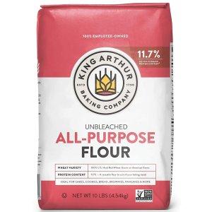 近期好价$2.95补货:King Arthur Flour 多用途面粉 5磅装