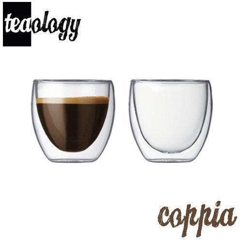 Teaology 双层玻璃杯 2件套 4OZ