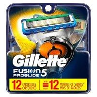 Gillette Fusion5 ProGlide 替换刀头 12个