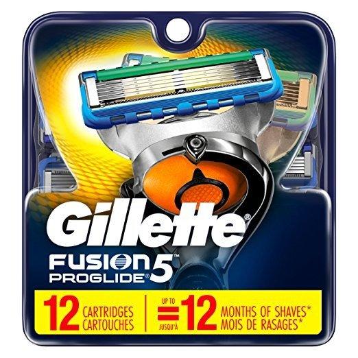 Fusion5 ProGlide 替换刀头 12个