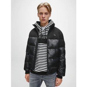 Calvin Klein Jeanslogo羽绒服