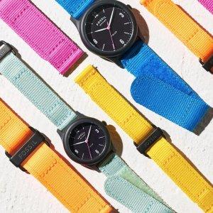 低至5折 玫瑰金手表$239Fossil 手表、表带热卖 全场$27起收