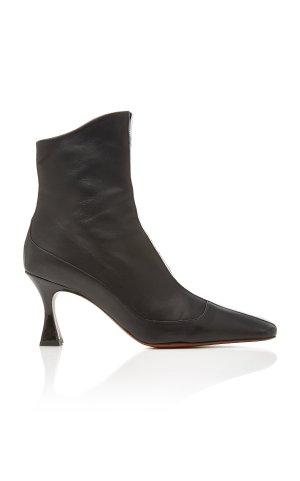 Manu Atelier 黑色鸭嘴靴