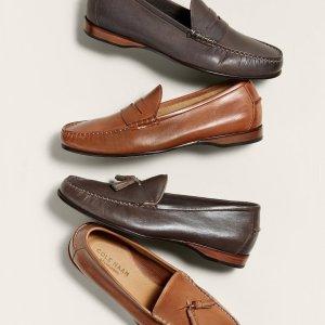 一律低至$40+免邮Cole Haan 精选男女舒适鞋履热卖