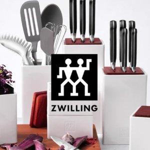 低至4折+免邮!€28就收砍刀限今天:Zwilling 双立人厨具大促 白菜价收高品质锅具、刀具套装