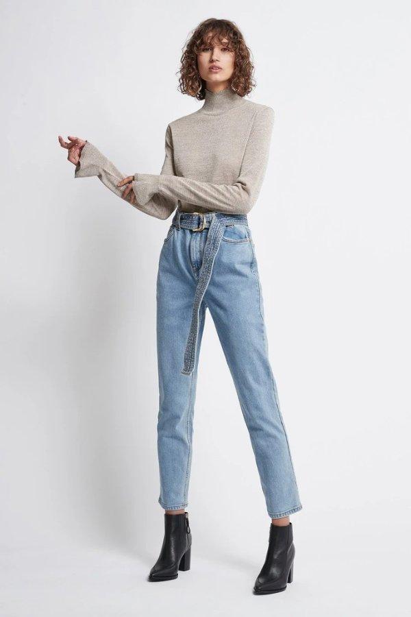 Allegro 腰带式牛仔裤