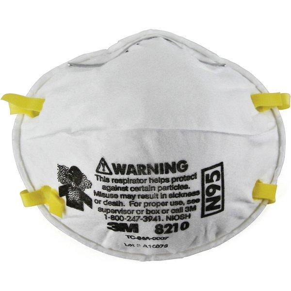 8210PB1-A N95防尘口罩 20个装