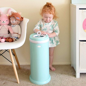As low as $59.99Ubbi Steel Odor Locking Diaper Pail, No Special Bag Required