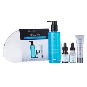 Skin Ceuticals 变相5.4折 价值 £185基础洁面+CF精华+B5精华+美白防晒  – 价值 £185*