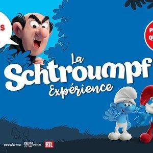 线上6.7折+额外7.5折=5折蓝精灵展览回归巴黎 欢迎来到童话世界