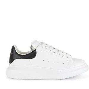 £360收 新款奶茶色超好看Alexander McQueen 麦昆小白鞋专场 黑尾、小黑鞋爆款码全