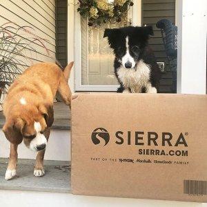 $1.5起Sierra 全场家居宠物用品无门槛免运费