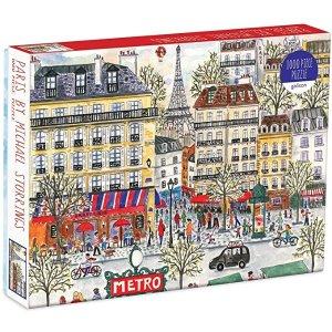 巴黎 拼图 1000p'c