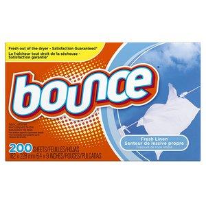 $7.91(原价$11.99)Bounce 清香衣物烘干纸, 200张