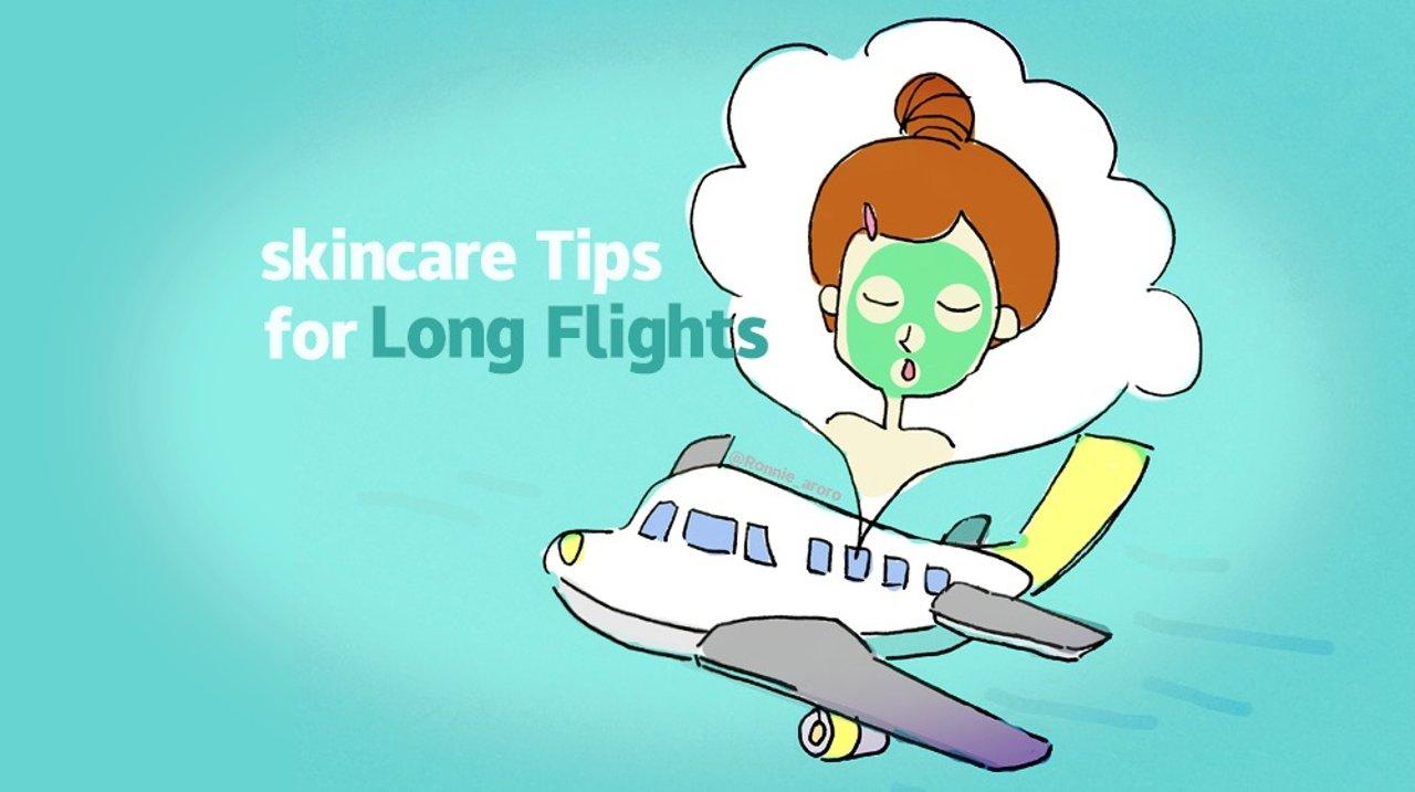 长时间坐飞机好煎熬,长途飞行护肤小锦囊在这了!