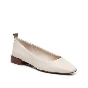 粗跟平底鞋