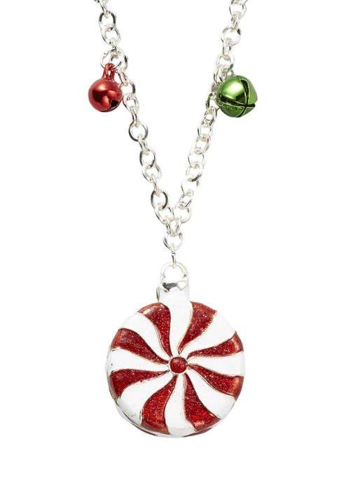 圣诞糖果项链