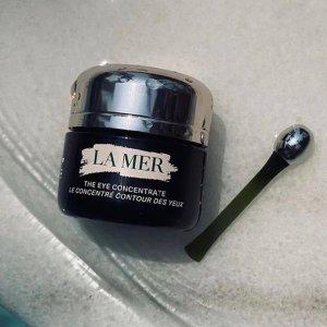 买即送神奇面霜、洁面3件套上新:La Mer 眼部护理专场 入新款眼霜送按摩棒
