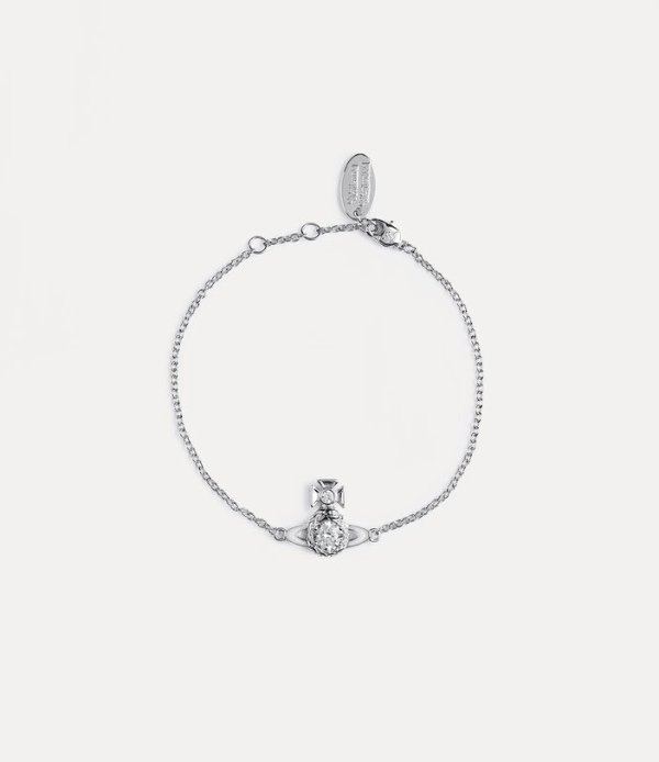 银色土星手链
