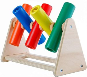 KINGDOM SECRET Jingle Flip Fingers Wooden Sensory Toy