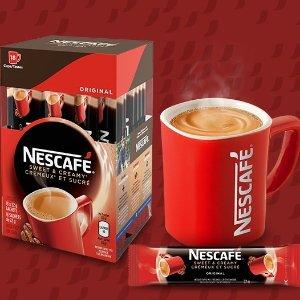 $28.39(原价$47.94)Nescafé 雀巢香浓即冲咖啡法式香草口味 108包