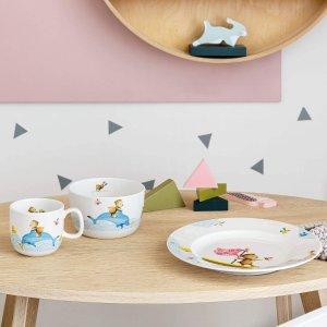 €31收 杯子+盘子+碗Villeroy & Boch 儿童餐具3件套 可可爱爱小熊图案