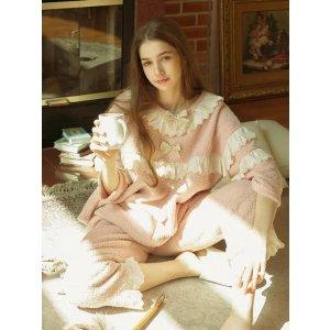 珊瑚绒睡衣套装