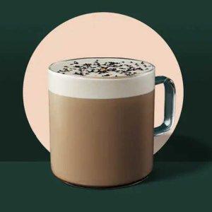 加拿大限定Starbucks 星巴克 新品黑芝麻红茶拿铁上市