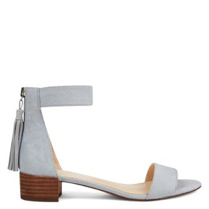 Ritequick Tassel Sandals - Light Blue Fabric