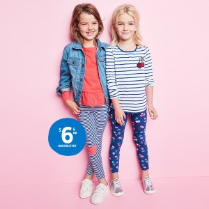 $6 & UpOshKosh BGosh Mix It Up With Tops & Leggings