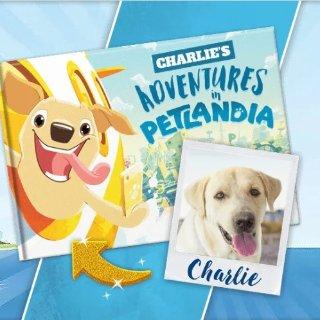 买2本享8.5折独家:Petlandia 定制专属你家宠物独一无二的童话书