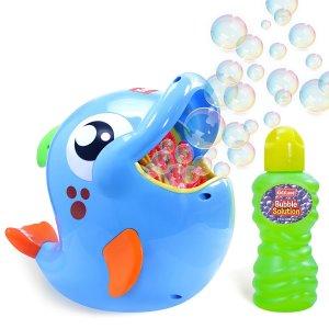 $24.99 (原价$49.99)闪购:Kidzlane 海豚造型超级泡泡机