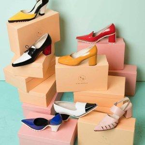 7折起+免邮  小众不贵$100+最后一天:西班牙设计师品牌Nina Hauzer 网红复古美鞋热卖推荐