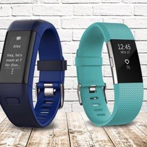 $79.2起 带心率监测功能Fitbit 多款智能运动手环热卖