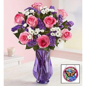 Precious Love Flower Arrangement for Mom